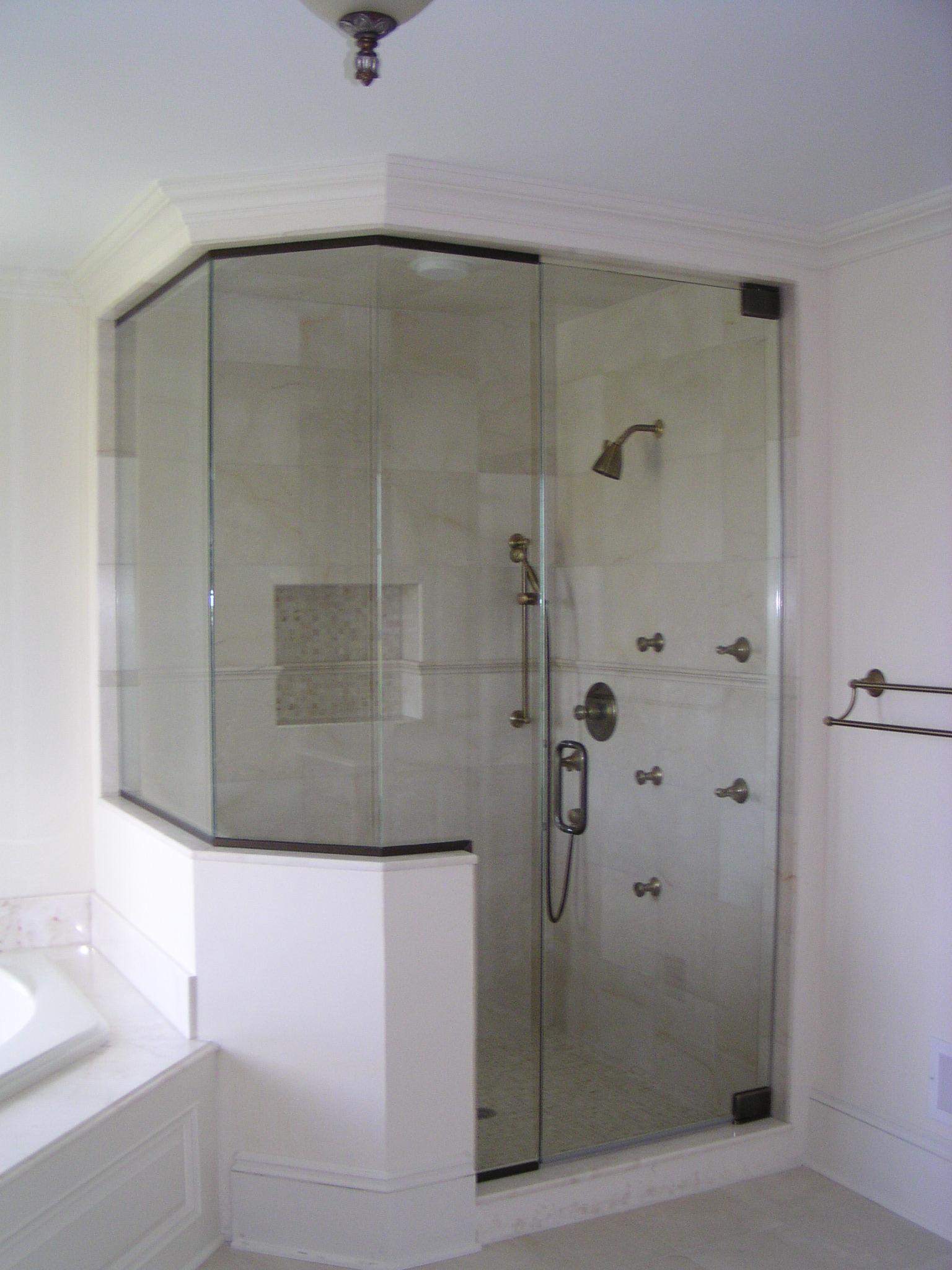 Shower Enclosures White Plains Glass Mirror