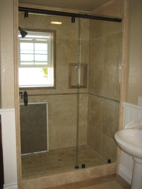 Shower Enclosures Hydroslide White Plains Glass Amp Mirror